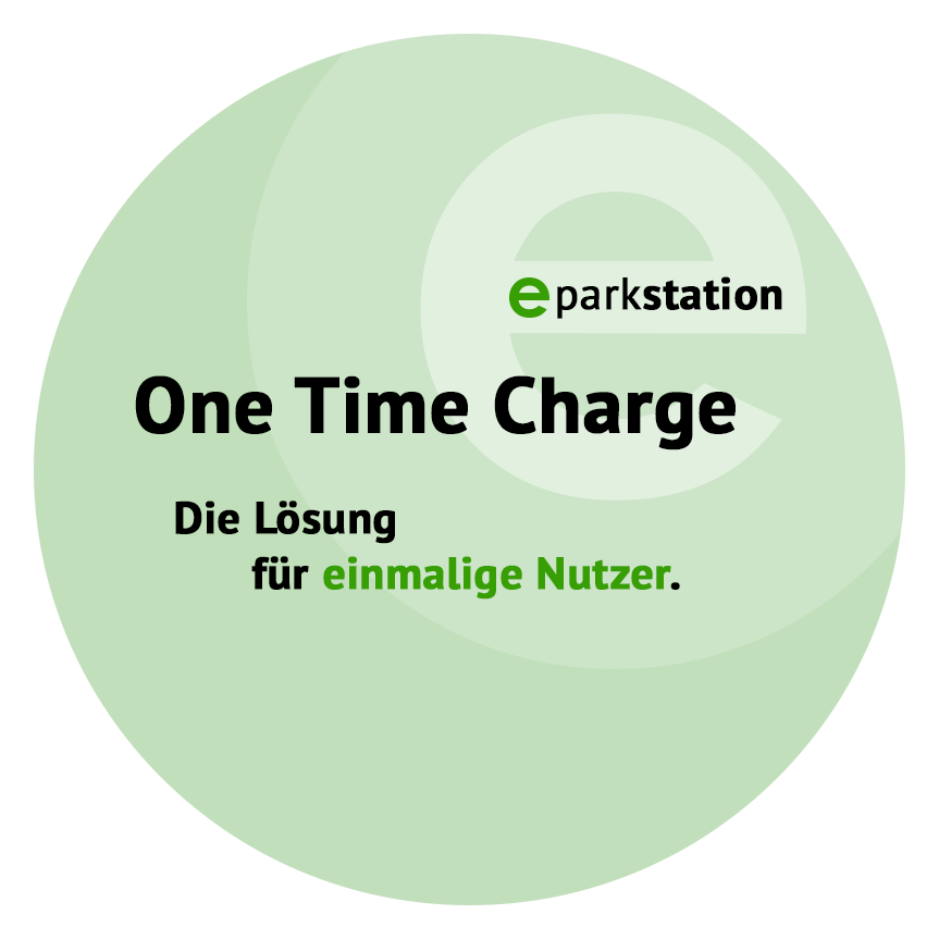 eparkstation One Time Charge